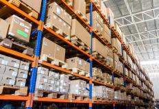 Wholesale suppliers may work out of larger warehouse where products can be stored until sold.