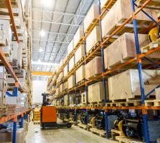 Goods in transit are those underway from a seller to a buyer, but aren't physically held in the inventory of either party.