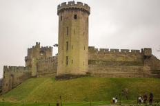 Warwick castle is an ancient English fortification in south-central Britain that was initially constructed in 1068 AD by William the Conqueror.