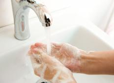 Thorough hand washing can help prevent cross contamination.
