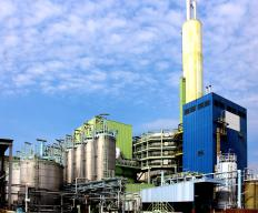 Waste factories use biofiltration systems to reduce air pollution.