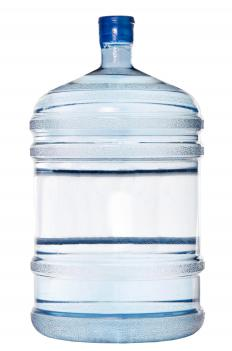 A water cooler bottle. Most water coolers are a form of water accumulator.