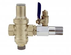 Water pressure regulators use valves to control how much water can run through pipes.