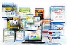 Web designers create the layout, color scheme, and functionality of a website.