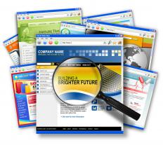 Many online creation tools offer website templates that make building a website easier.