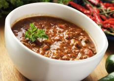 Chili is an example of braised food.