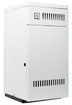 A wall furnace is a permanent heating system that's attached to the wall and vented to the outside.