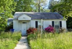 A dilapidated appearance may indicate that a property is distressed.