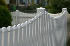 The type of fence chosen depends of the property and use of the fence.