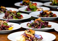 Skilled caterers enjoy working with food and are often competent cooks, even if they do not personally cook for events.