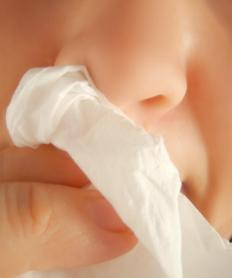 A stuffy nose is a common labetalol side effect.