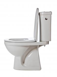 Infrared motion-sensor technology allows toilets to flush on their own when they otherwise aren't being flushed after use by visitors.