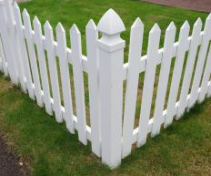 To clean, all vinyl fencing requires is spray from a hose or a good rain.