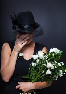 Not all bereaved individuals are emotionally equipped to care for flowers.