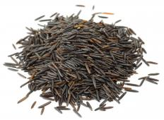 The main feature of wild rice casserole is the nutty flavor of the wild rice.