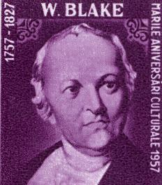 William Blake wrote poems in iambic heptameter.