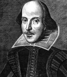 William Shakespeare's plays are filled with metaphors.