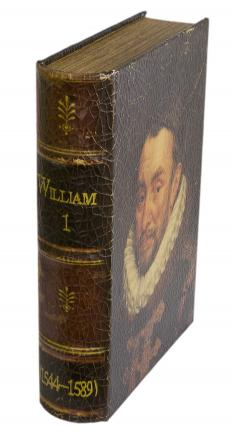 A book of plays by William Shakespeare, including <em>Hamlet</em>.