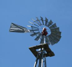 Don Quixote is known for tilting at windmills.
