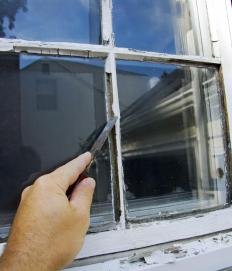 Replacing or repairing a window pane is reglazing.