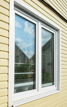 Clean windows can brighten up a home.