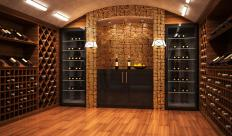 Wine cellars may feature a humidity sensor.