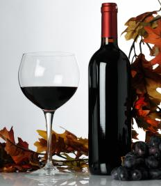 If refrigerated, full-bodied red wine should be kept at about 59 degrees.
