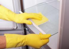 Cleaning the refrigerator will help maximize its operating life.
