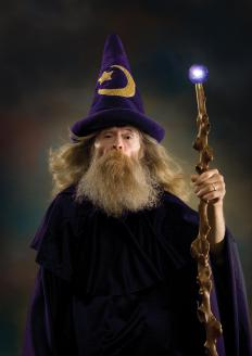 Merlin is a fictional wizard.