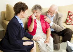 A behavioral therapist may help to treat depression in the elderly.