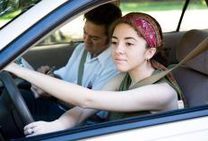 Some driving schools teach students how to avoid crashes.