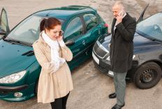Insurance adjusters investigate auto insurance claims.