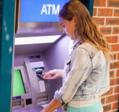 Individuals interact with ATM networks daily to retrieve cash.