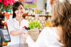 An example of commerce is the exchange of money for groceries at a store.