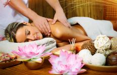 Hawaiian massage is intended to soothe a person's muscles and their spirit.