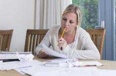 Creating a budget can help home financial management.