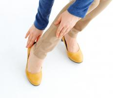 Calluses may be caused by ill fitting shoes.