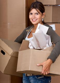 Wardrobe boxes are designed to be shipped, which is useful when moving.