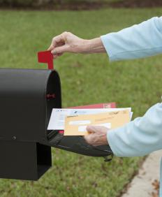 Metered mail is typically the cheapest way for businesses to send high volumes of mail.