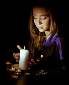 Mediums go into psychic trances and connect with the spirit world.