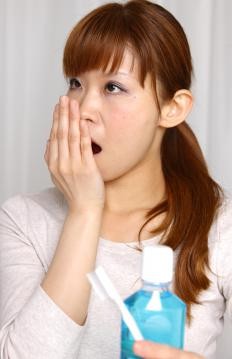 Bad breath may develop as a result of a staph nasal infection.