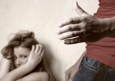 A domestic abuse victim might seek an order or protection.