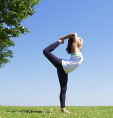 Some yoga poses are particularly helpful for people who want to improve their sense of balance.