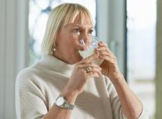 Consuming some foods and drinks, including milk, may increase production of mucus.