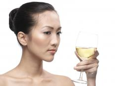 "Drinking alcohol can lead to ""Asian flush,"" a syndrome that affects many of Asian descent."