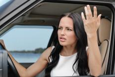 Driving can be stressful, which can lead to road rage.