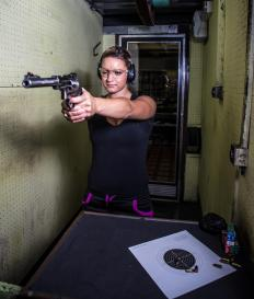 Individuals who perceive an increase in crime may choose to receive firearms training.