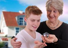 Inheritance properties may feature homes, businesses, or lands owned by the deceased.