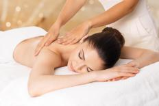 Deep tissue work is performed during the Lifestream Massage Technique.