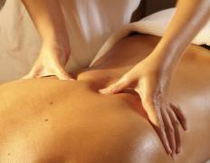 Massage therapy may be useful in the management of scar tissue pain.